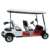 back to back car style 4-seater electric golf cart