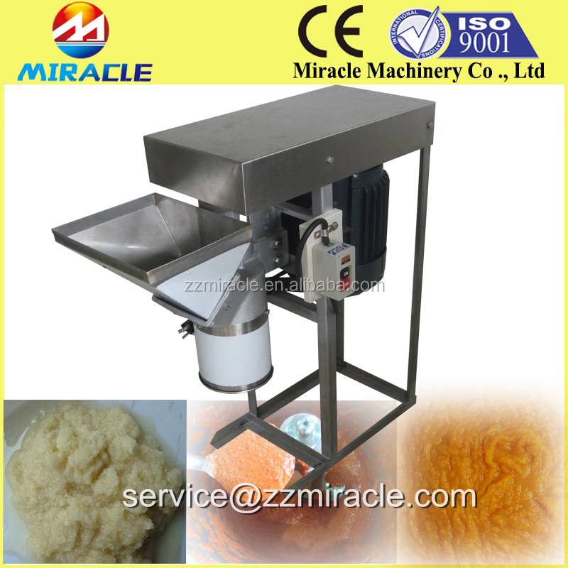 Garlic clove process paste butter machine, fresh garlic milling machine for sale