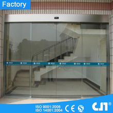 12mm Tempered Glass Automatic Door for Buliding Entrance