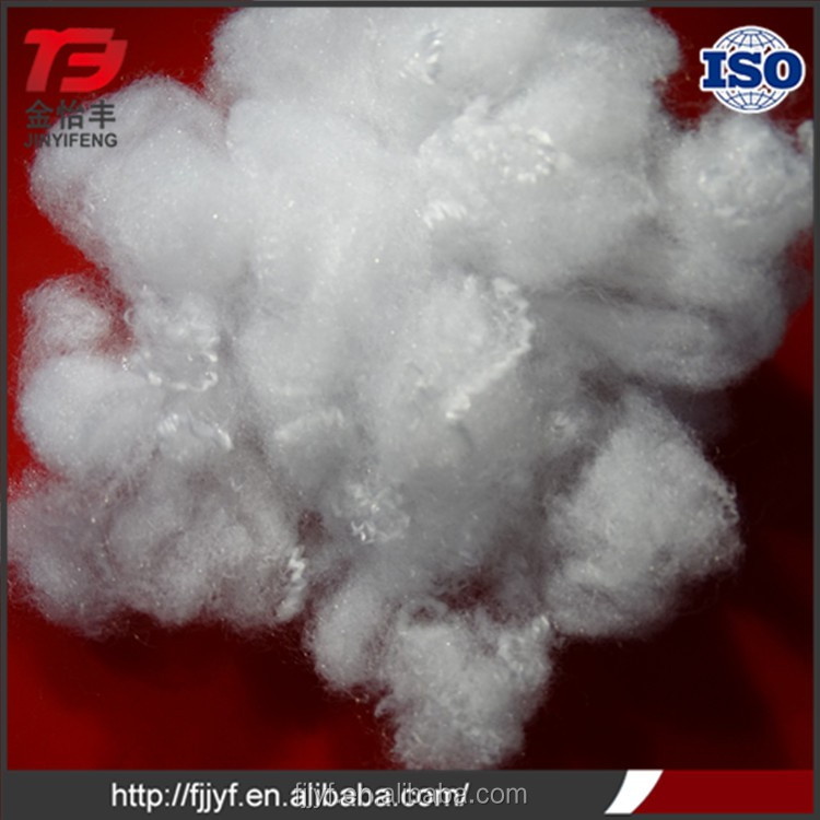 Factory export 100% polyester 15D solid stuff polyester staple fiber with great price