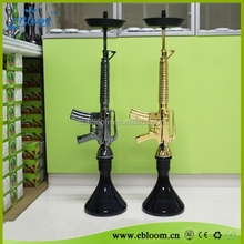 Luxury resin hookah Chicha ak47 and M16 hookah gun hookah with best price