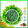 China low price npk green fertilizer npk 15-8-20