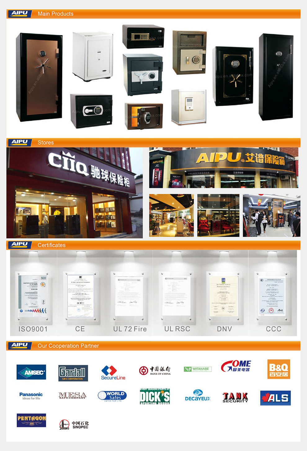 Luxurious jewelry safes HEVER series FDG-A1/D-78HZW/high end watch safes / 780X540X500(mm)