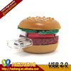 Give Away Bulk 4GB Food Hamburger Shape USB Key Disk With Factory Price