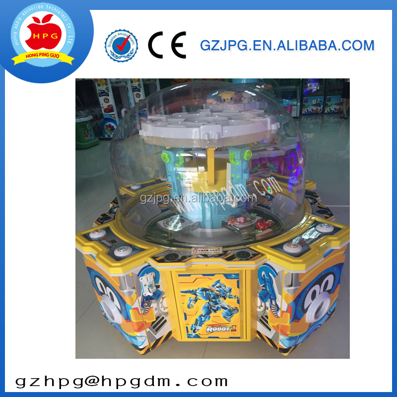 wholesale coin opertaed products China commercial toy prize game machine