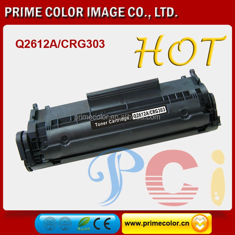 Black compatible toner cartridge 103 303 703 for Canon