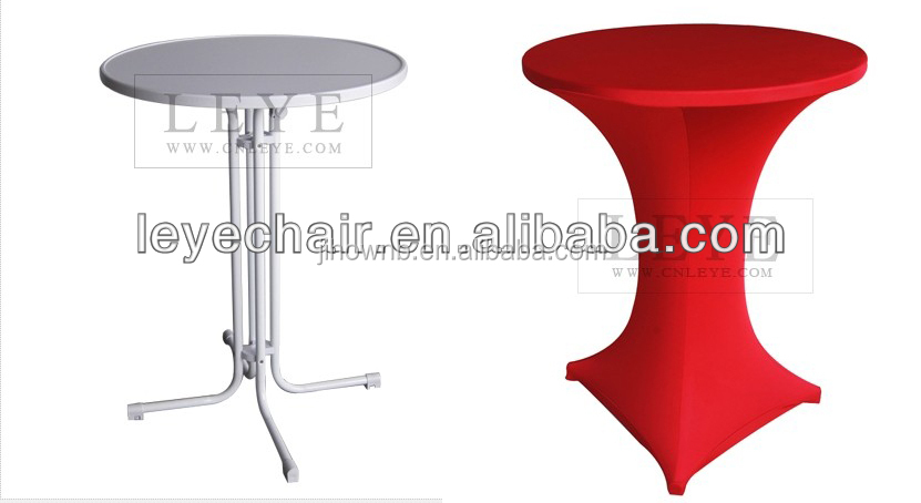China Hot Sale Folding High Bar Tables Cocktail Tables for Party Wholesale Price