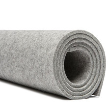 Colorful low cost 100% Polyester felt / PET spunbond non woven geotextile
