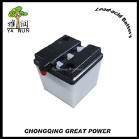 6N4 Battery 6v4ah motorcycle