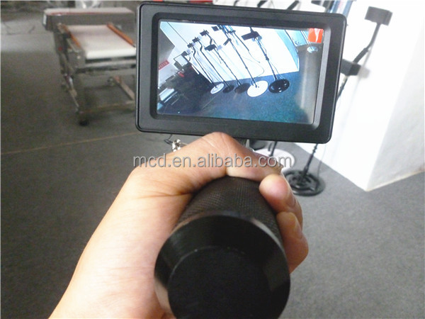 Real-time Professional telescopic inspection mirror / inspection mirrors with light MCD-V7S under car mirror