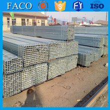 FACO GI RHS ! galvanized steel tube 100x100 galvanized steel pipe nipple lower price