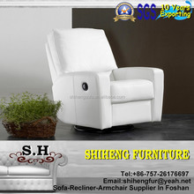 Modern Reclining Leather Armchair Recliner Living Room Sofa Design XY-R10