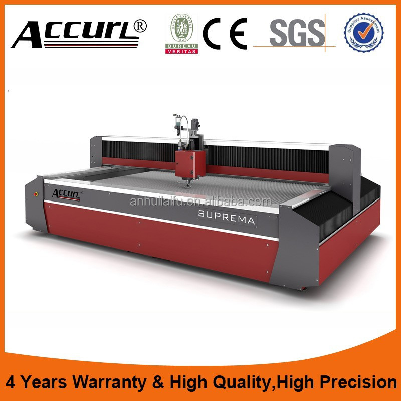 High Quality 5 Axis cnc waterjet water jet stone cutting machine price with CE certificated
