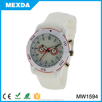 man fashion silicone starp 3atm water resistant man sport watch