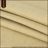 Plain and classical style indoor blackout fabric curtain