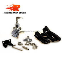 Fuel Pressure Regulator And Gauge IP-FPR-003 Silvery