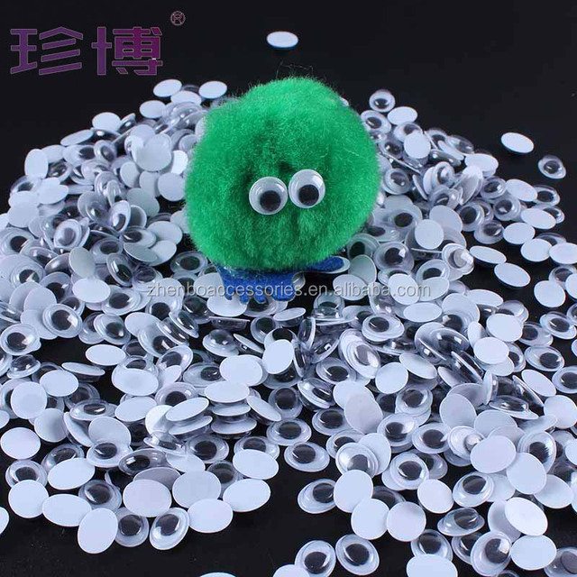 Toys Accessories Plastic Safety Oval Shape Googly Eyes For Stuffed Animals