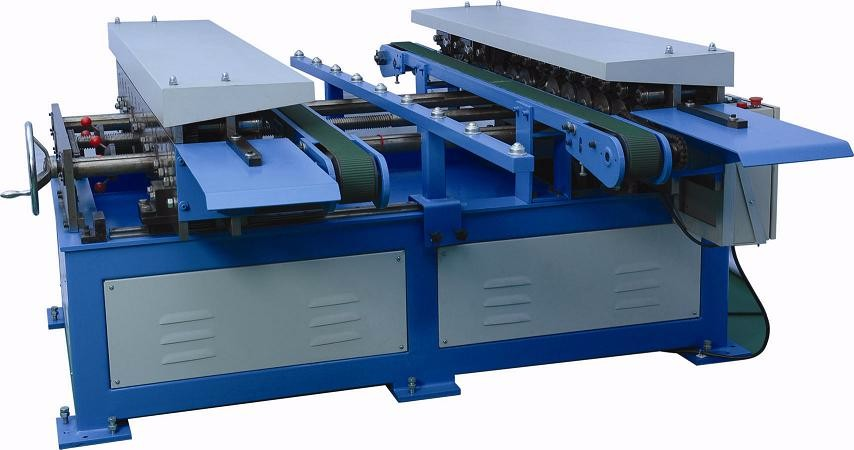 instock TDC/TDF duct flange forming machine for rectangular air duct