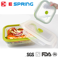 Silicone Sealing Food Storage Containers Stackable Container Set