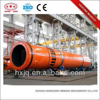 Hongxing stainless steel best quality efficient rotary kiln dryer