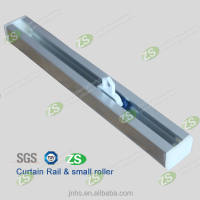 Straight Linear Aluminum Hanging Curtain Rail Tracking