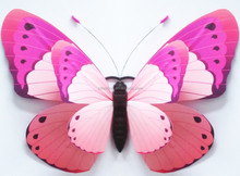 Factory manufacture 1.2m giant butterfly