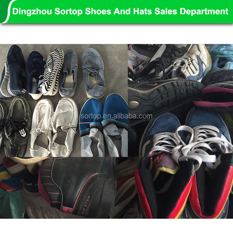Warehouse miami brand name used shoes clothing, bulk used shoes for export.