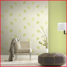 Fresh Natural Fashionable Design Vinyl Coated Decorative Wallpaper