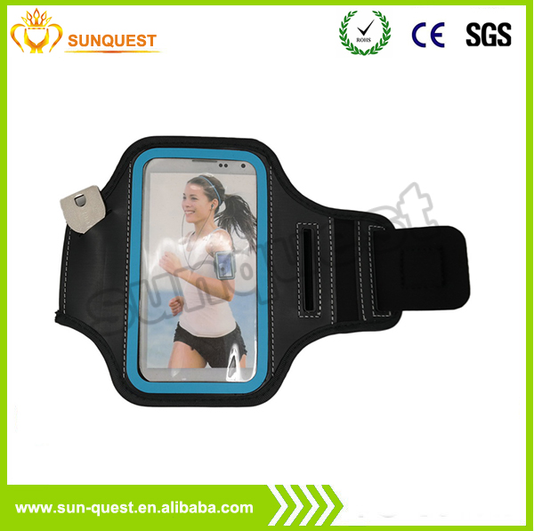 Outdoor Running Sport Armband for Xiaomi Case Gym Mobile Phone Arm Holder Armband For Mate 7/ Note II/ Note 3