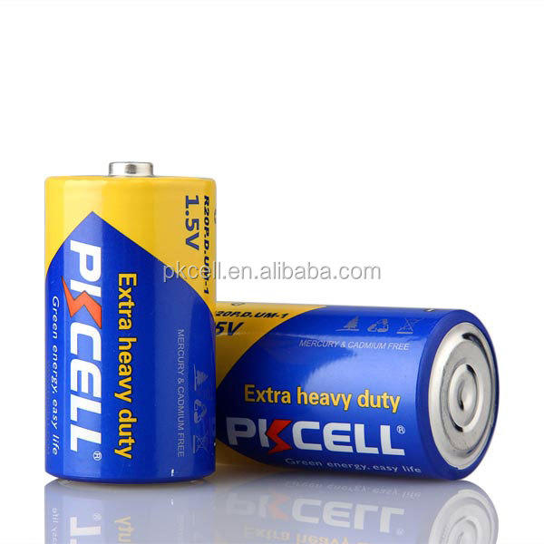 PKCELL agent 1.5v R20P Dry cylinder D size battery selling on Alibaba.com