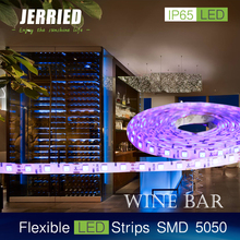 DC12v smd 5050 14.4w/m led strip light 60leds IP65 with CE ROHS
