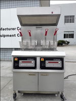 commercial induction deep fryer/ broasted chicken equipment/henny penny pressure fryer pfe-800