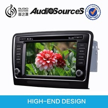 Audiosources : skoda superb radio with G+G 8 inch HD touch screen. bluetooth phone book function.