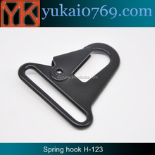 Yukai nickle free spring snap hook/zinc alloy bag dog snap hook/metal bag hook