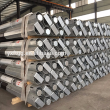 Octagonal steel Electric transmission poles Galvanized, Quality Metal Utility Poles