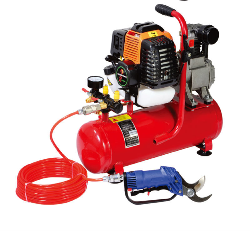 Portable 2-stroke gasoline engine pneumatic pruner (CY-30JB)