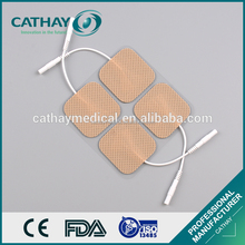 China manufacturer certificated fabric backing wholesale tens electrode pads