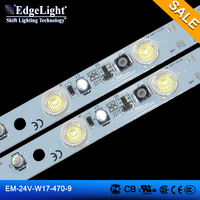 Edgelight led strip light ul , led aluminum profile super bright , white /cool white , CE/ROHS/UL listed LED bar light LED strip