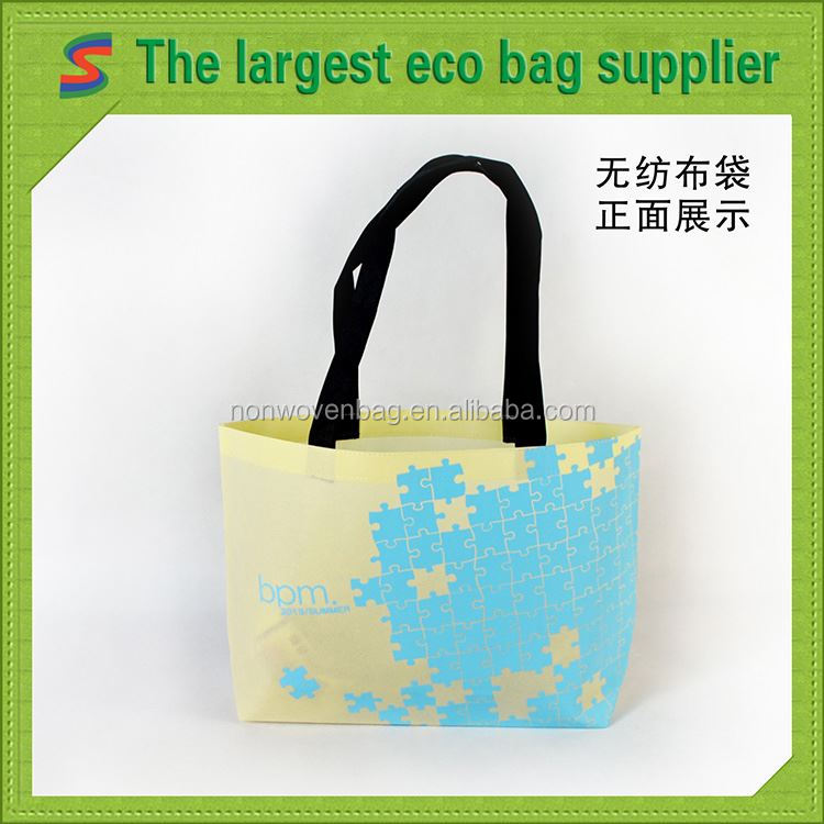 Fold The Total Kraft Nonwoven Bag Hot Sell Non Woven Shopping Bag