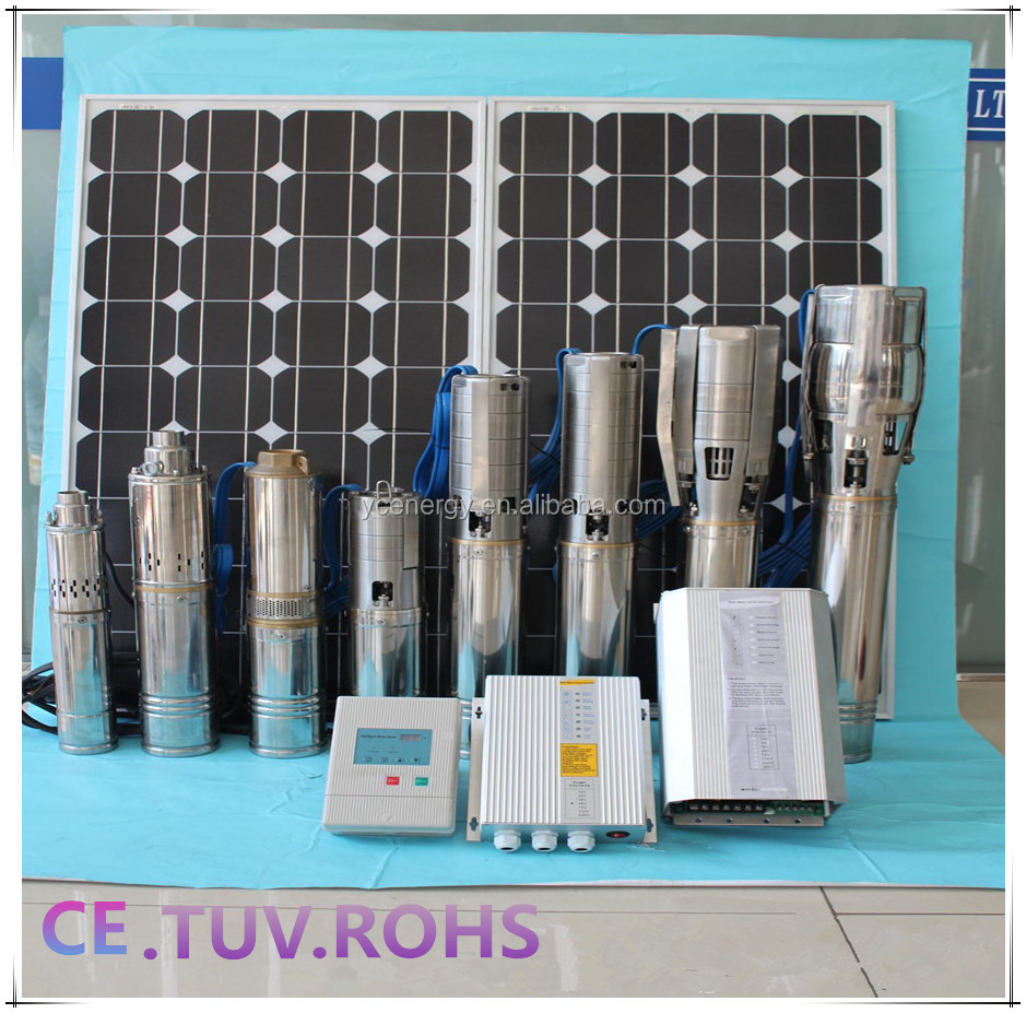 Ac single phase solar water pump for irrigation of agriculture