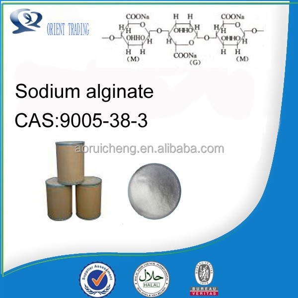 Best offer sodium alginate food additive, with high purity 99%