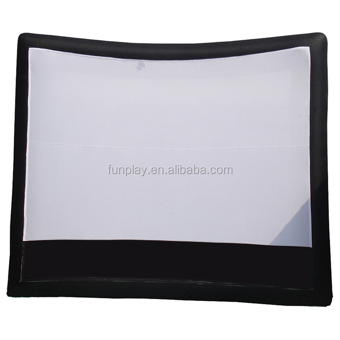 Air blown inflatable movie screen/Advertising screen