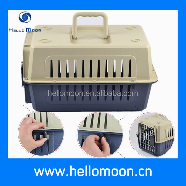Hellomoon High Quality Pet Carrier Portable Travel Dog Kennels Cages