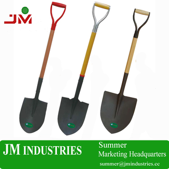 alibaba china post hole diggers garden sets spade shovel manufacturer with ash wooden handle