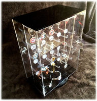 acrylic keychain display stand,keychain display rack