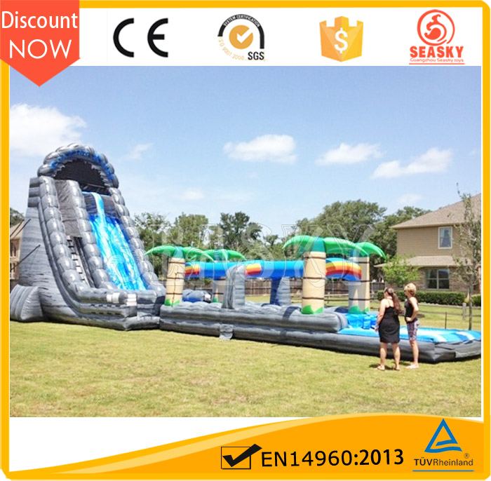 Commercial floting giant inflatable water slide for adult
