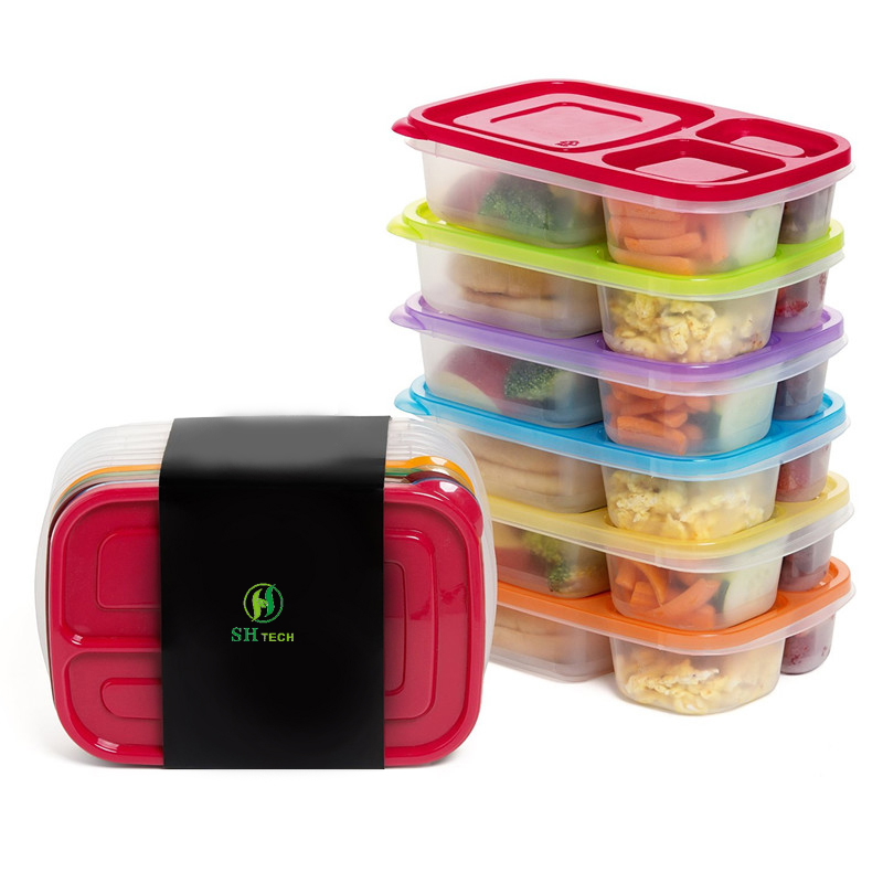 SHTech Bento Box Cereal Container <strong>Plastic</strong>