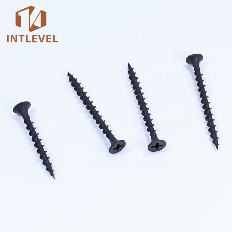 <strong>C1022</strong> steel fasteners phosphate Coarse Thread <strong>Black</strong> <strong>drywall</strong> <strong>screw</strong>