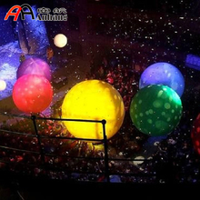 Inflatable LED Coloured Spheres/ Hanging Inflatable Balloons