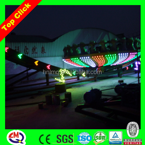 Theme park games rc flying ufo with LED lights